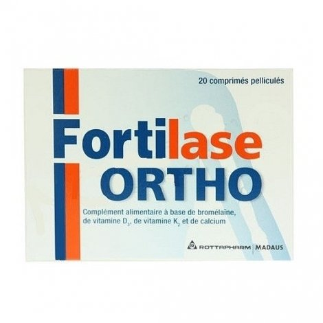 Meda Fortilase Ortho Capital Osseux x20 Comprimés pas cher, discount