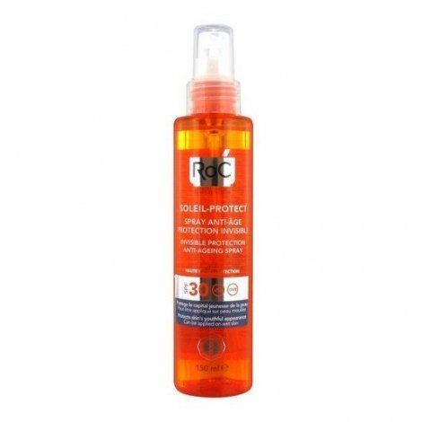 Roc Soleil Protect+ SPF30 Spray Anti-Age Protection Invisible 150ml pas cher, discount