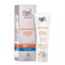Roc Soleil-Protect Crème Hydratante Désaltérante SPF50+ 50ml