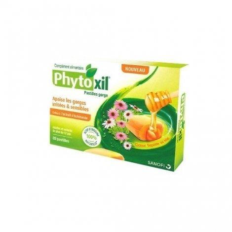 Sanofi Phytoxil Apaisant Gorge Adultes & Enfants x20 Pastilles pas cher, discount