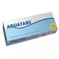 Aquatabs Désinfection De L'Eau x60 Comprimés Effervescents pas cher, discount