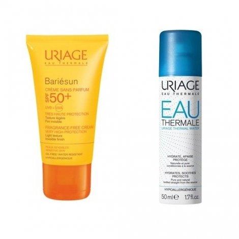 Uriage Bariésun Crème SPF50+ 50ml + Eau Thermale D'Uriage 50ml pas cher, discount