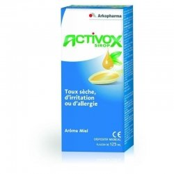 Arkopharma Activox Sirop toux sèche 125ml pas cher, discount