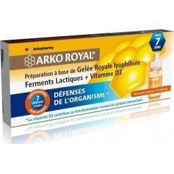 Arkoroyal Gelée royale + probiotiques adultes 7x7.5ml. pas cher, discount