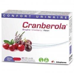 Arkopharma Cranberola confort urinaire 60 gélules 3130390 pas cher, discount