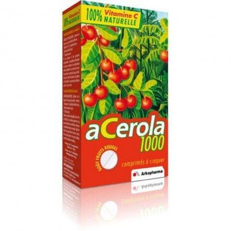 Arkopharma Acerola 1000 familypack tabl à macher 60 pas cher, discount