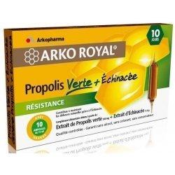 Arkoroyal propolis vert ampoules 10x15ml