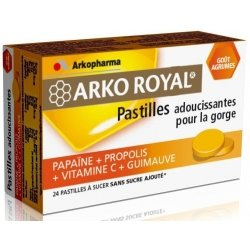 Arkoroyal propolis pastilles Goût Agrumes 24 pas cher, discount