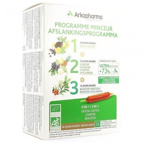 Arkofluides Programme Minceur NF Ampoules 30x15ml pas cher, discount