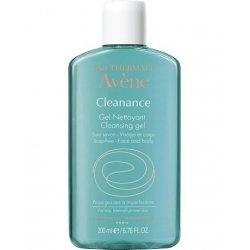 Avene Cleanance gel nettoyant sans savon flacon 200ml pas cher, discount