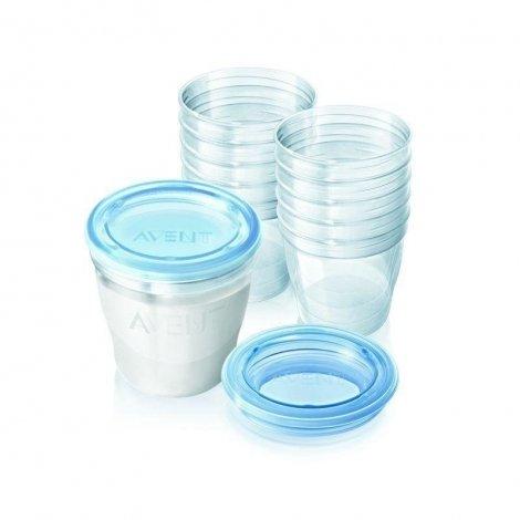 Avent via système de conservation lait maternel pas cher, discount