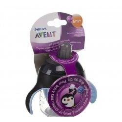 Avent gobelet anti fuite pinguin noir 200ml