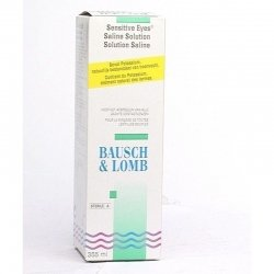 Bausch lomb sensit eye saline 360ml