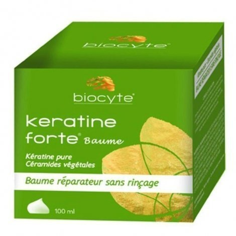 Biocyte Baume réparateur keratine forte 100ml pas cher, discount
