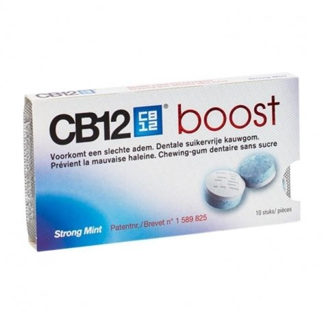 Cb12 Boost strong mint chewing gum 10 pas cher, discount