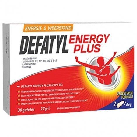 Defatyl Energy Plus 30 capsules pas cher, discount