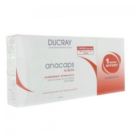 Ducray Anacaps tri-activ tripack 3 x 30capsules pas cher, discount