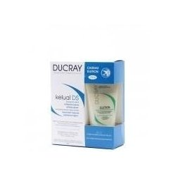 Ducray kelual ds shampooing 100ml + elution  75ml