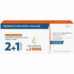 Ducray Anacaps Progressiv 3x30 capsules