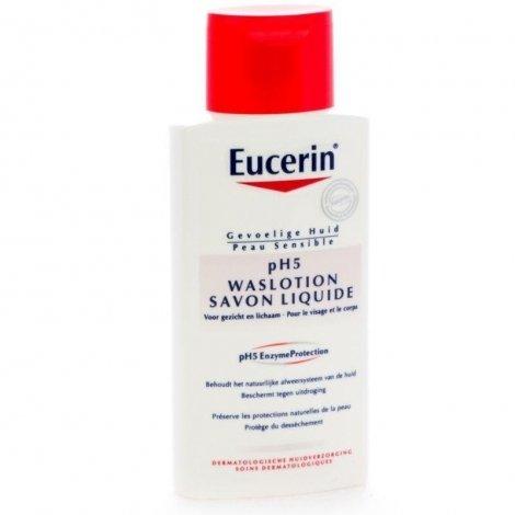 Eucerin Ph5 peau sensible gel lavant 200ml pas cher, discount