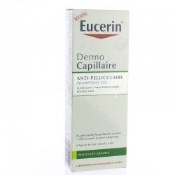 Eucerin Dermocapillaire shampoing gel anti-pelliculaire grasse 250ml pas cher, discount