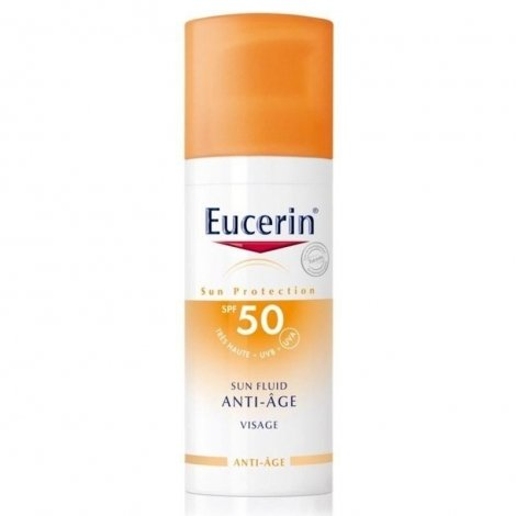 Eucerin Sun Fluid Anti-Age IP50+ Visage 50ml pas cher, discount