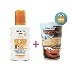 Eucerin Sun Kids SPF50+ Spray 200ml + Cadeau DISNEY Offert pas cher, discount