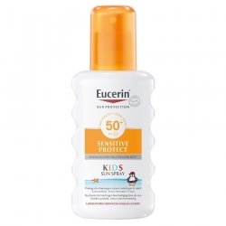 Eucerin Sun Sensitive Protect Kids Spray SPF50+ 200ml pas cher, discount