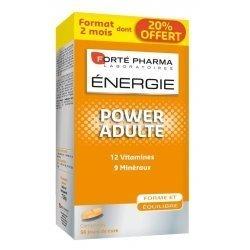 Forte Pharma Energie power adulte 56 comprimés pas cher, discount