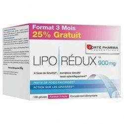 Forte Pharma Liporedux 900mg promopack 3 mois caps 168 pas cher, discount