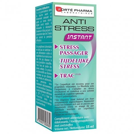 Forté Pharma Anti-stress instant spray 15ml pas cher, discount