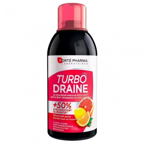 Forte Pharma Turbodraine Agrumes 500ml pas cher, discount
