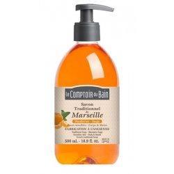 Le comptoir du bain savon de Marseille Mandarine 500ml