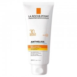 La Roche Posay Anthelios lait Ip30 peau sensible waterproof 300ml pas cher, discount