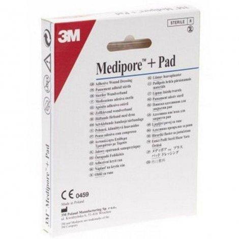 3m Medipore + pad 5x7,2cm 5 pièces pas cher, discount