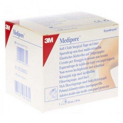 3m Medipore pansement élastique adhésif rouleau 10cmx10m 1 pièce pas cher, discount