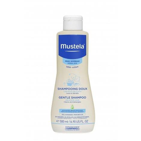 Mustela bébé Shampooing Doux Flacon capsule service 500ml pas cher, discount