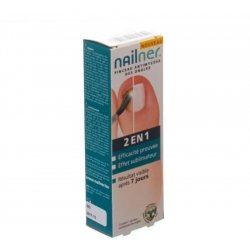 Nailner brush 2in1    5ml pas cher, discount