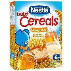 Baby cereals 8 céréales miel 250g pas cher, discount