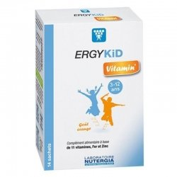 Nutergia Ergykid vitamin' 14 sachets pas cher, discount