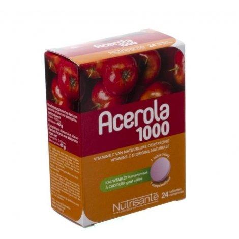 Acerola 1000mg    comp croq  24 pas cher, discount