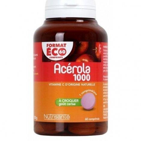 Nutrisanté Acerola 1000mg  60 comprimés pas cher, discount