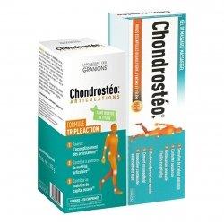 Chondrosteo Triple Action 120 Comprimés + Gel 100ml Offert pas cher, discount