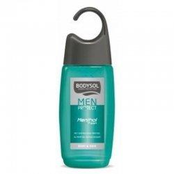 Bodysol men: gel douche menthol active nouvelle formule 250ml pas cher, discount