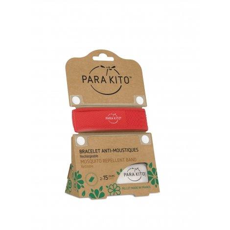 Parakito Bracelet anti-moustiques rouge pas cher, discount