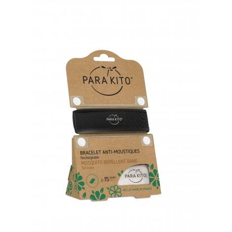 Parakito Bracelet anti-moustiques noir pas cher, discount