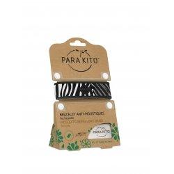 Parakito Bracelet anti-moustiques Zebra
