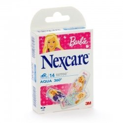 Nexcare aqua protection 360° tattoo barbie 14