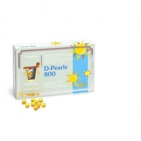 Pharma Nord D-Pearls 800 40 capsules pas cher, discount