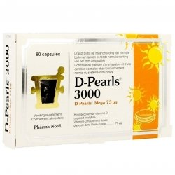 Pharma Nord D-pearls 3000 Caps 8 pas cher, discount